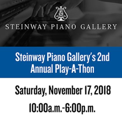 /news/2018/Steinway-Piano-Gallery-s-2nd--Annual-Play-A-Thon