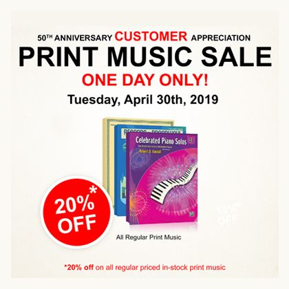 /news/2019/50th-Anniversary-Customer-Appreciation-Print-Music-Sale