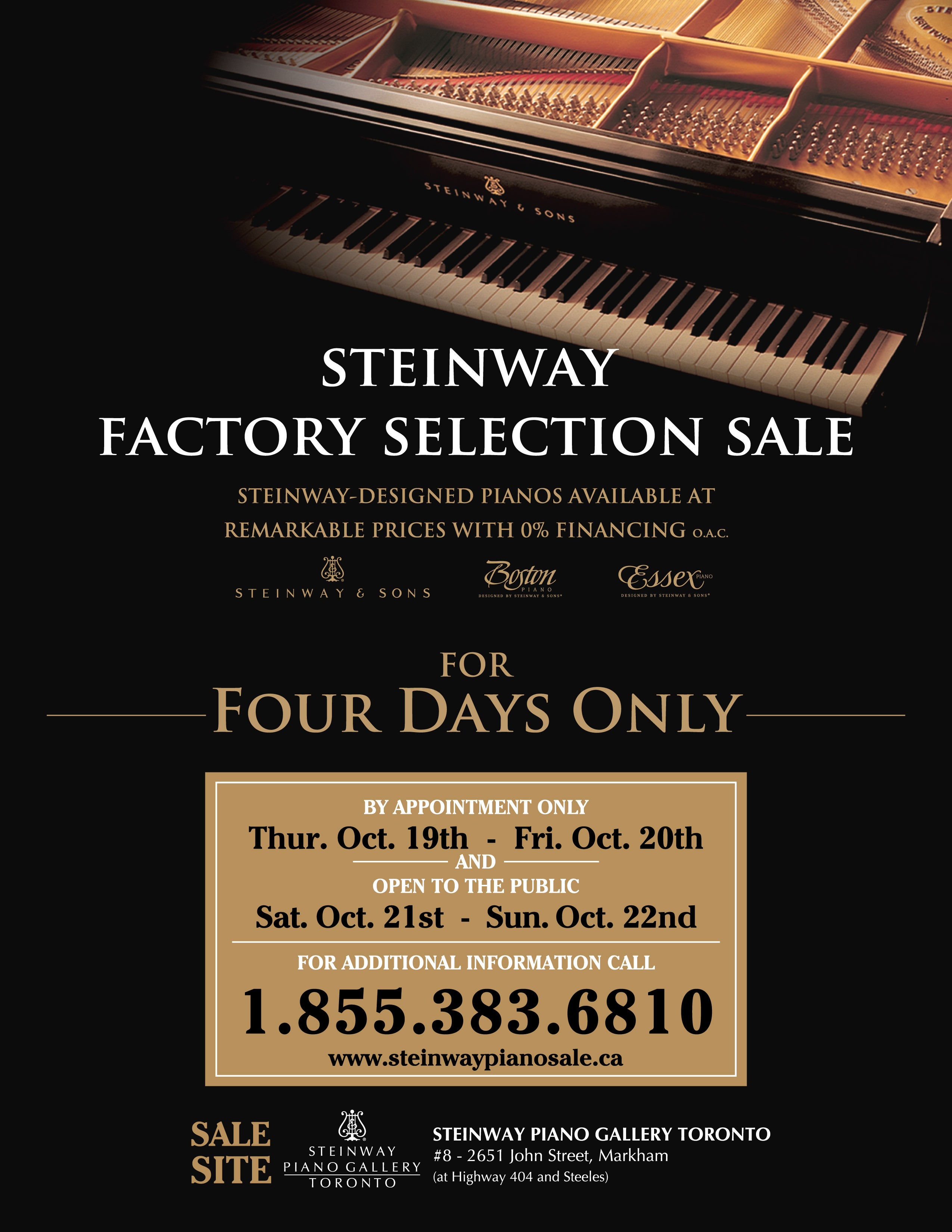 Steinway Factory Sale 2017 Steinway Amp Sons