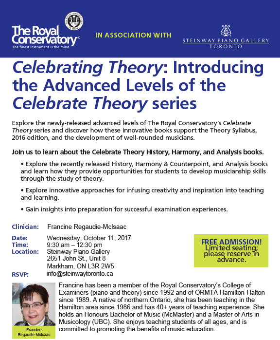 Celebrating Theory Introducing The Advanced Levels Of The